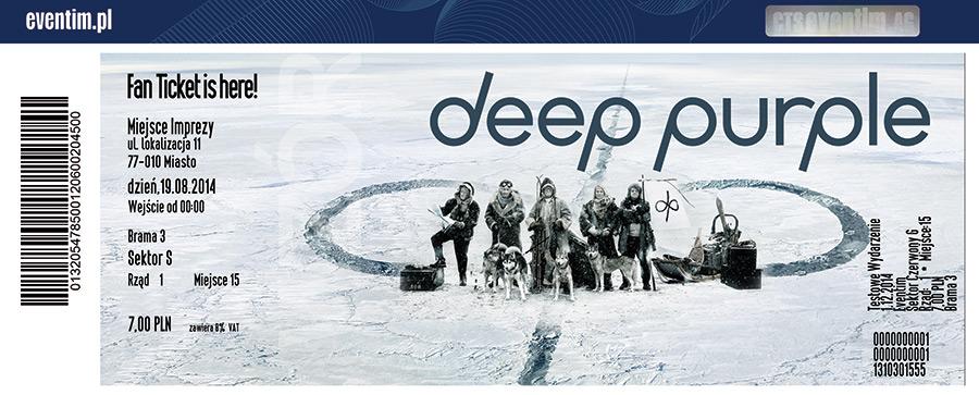 Deep Purple Tour Dates  Usa