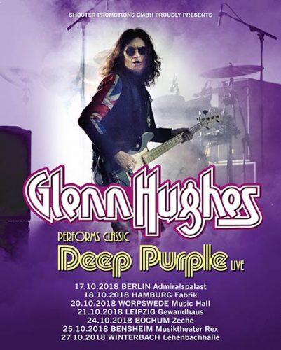 The Highway Star — Glenn Hughes adds German dates to ...
