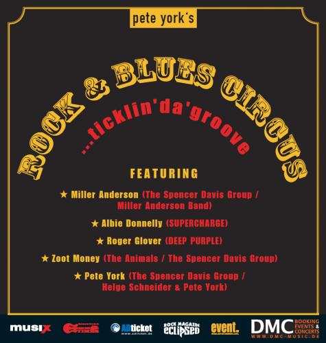 Pete Yorks ...ticklin 'da' groove flyer