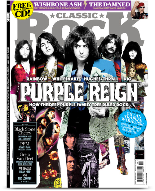 Classic Rock magazine June 2018
