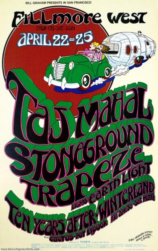 1971 Trapeze poster