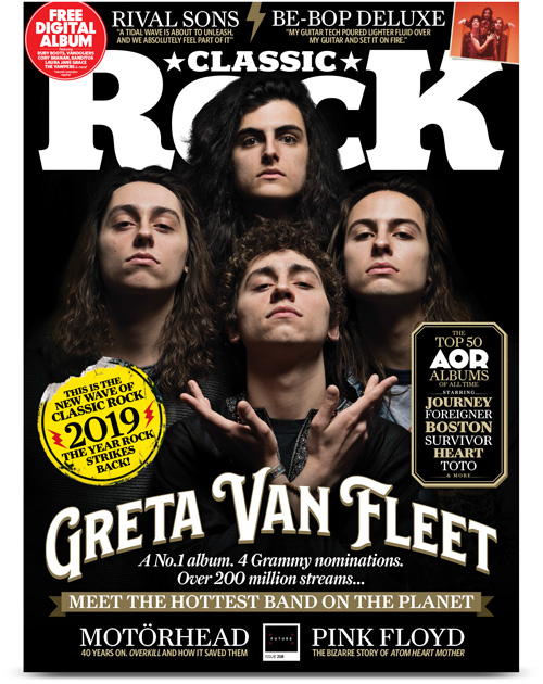 Classic Rock issue 258 (Feb/2019) cover