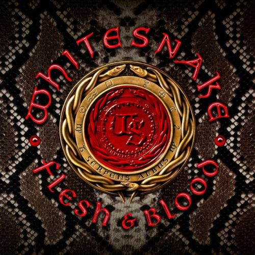 Whitesnake Flesh & Blood cover art