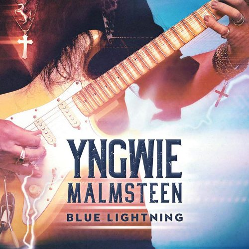 Yngwie Malmsteen Blue Lightning album cover
