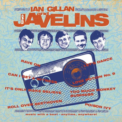 Ian Gillan and The Javelins, 2019 reissue cover
