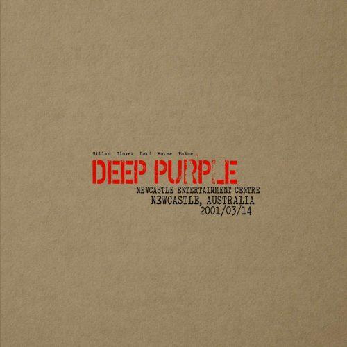 Deep Purple Newcastle Australia 2001 cover art