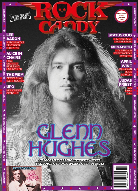 Glenn Hughes Rock Candy magazine #17