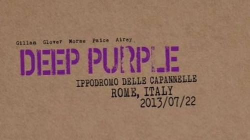 deep purple live in rome 2013 artwork