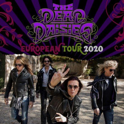 dead daisies european tour poster 2020
