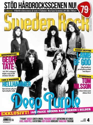 Sweden Rock 04-2020 cover