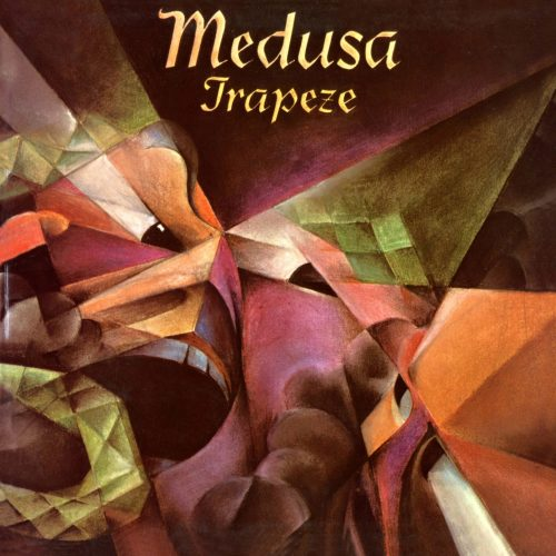 TRAPEZE Medusa cover art, image courtesy of Cherry Red Records
