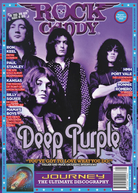 Rock Candy magazine, issue #21 (aug/sep 2020)