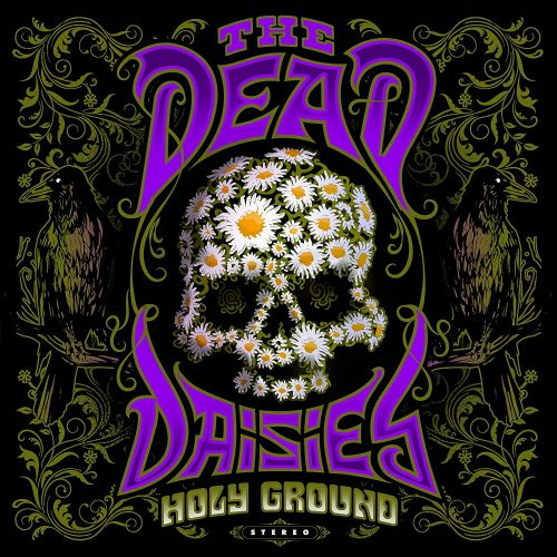 dead daisies holy ground cover artwork