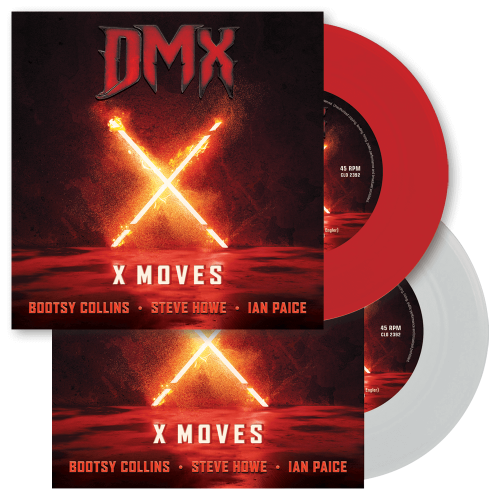 DMX feat Ian Paice - X Moves cover art