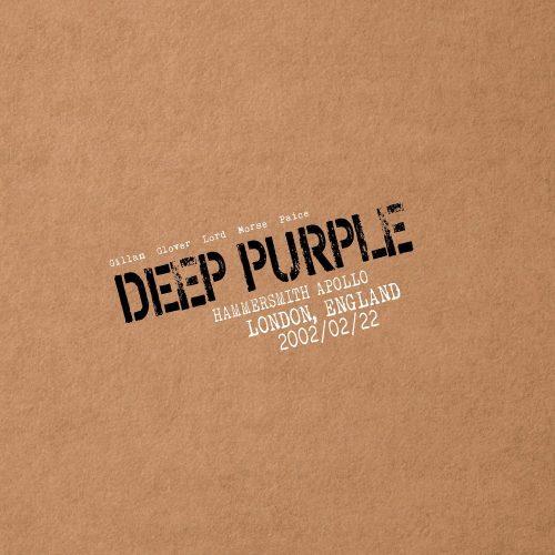 deep purple live in london 2002 cover art