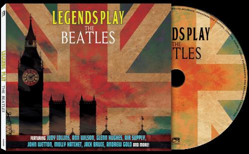 Morse, Hughes, +VA, Legends Play the Beatles tribute album cover art