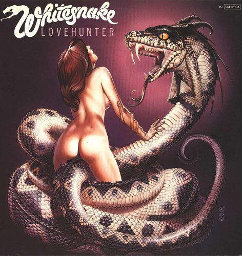 whitesnake lovehunter album cover