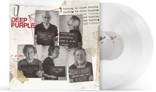 turning to crime white vinyl